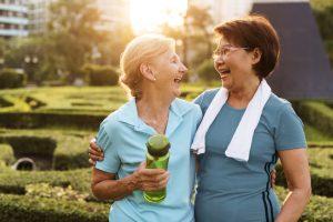 Gezond leven kan zelfs op latere leeftijd waarde hebben