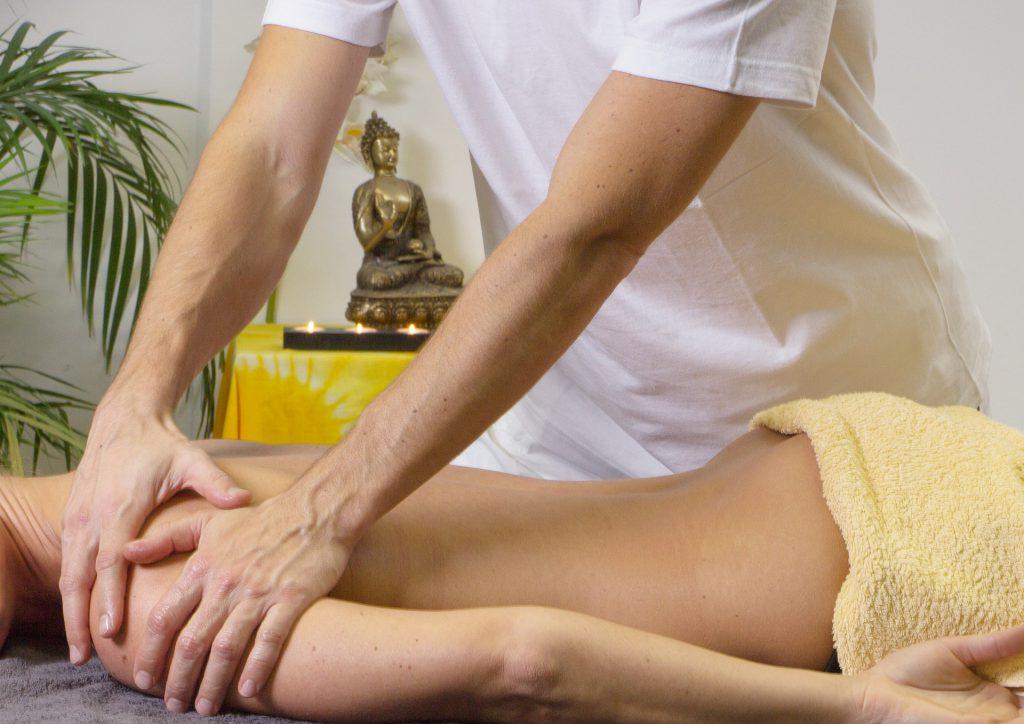 Sporten massage