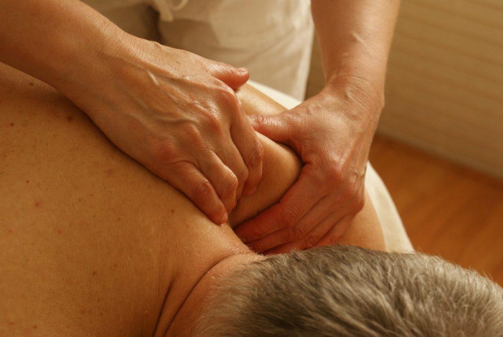 Massage na het sporten