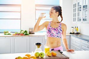 Voedingsschema fitness