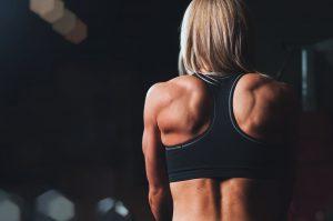 Trillende spieren in rust
