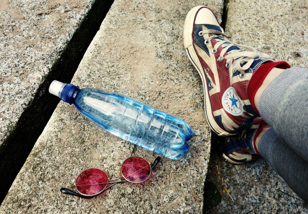 Plastic flesje opnieuw gebruiken