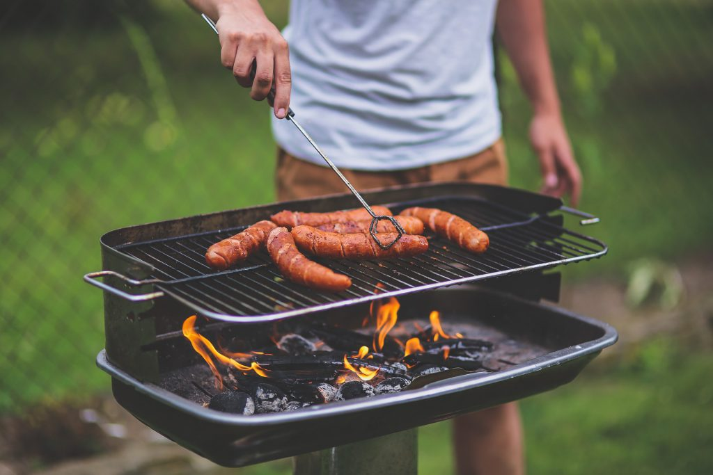 Barbecueën warm weer
