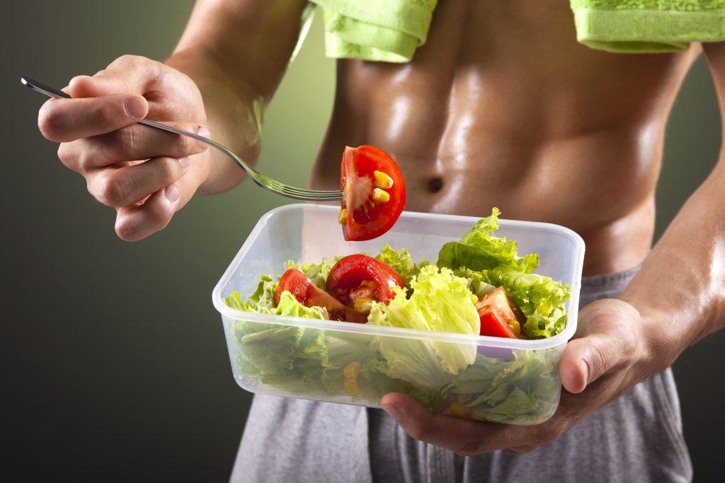 Voedingsschema spieropbouw