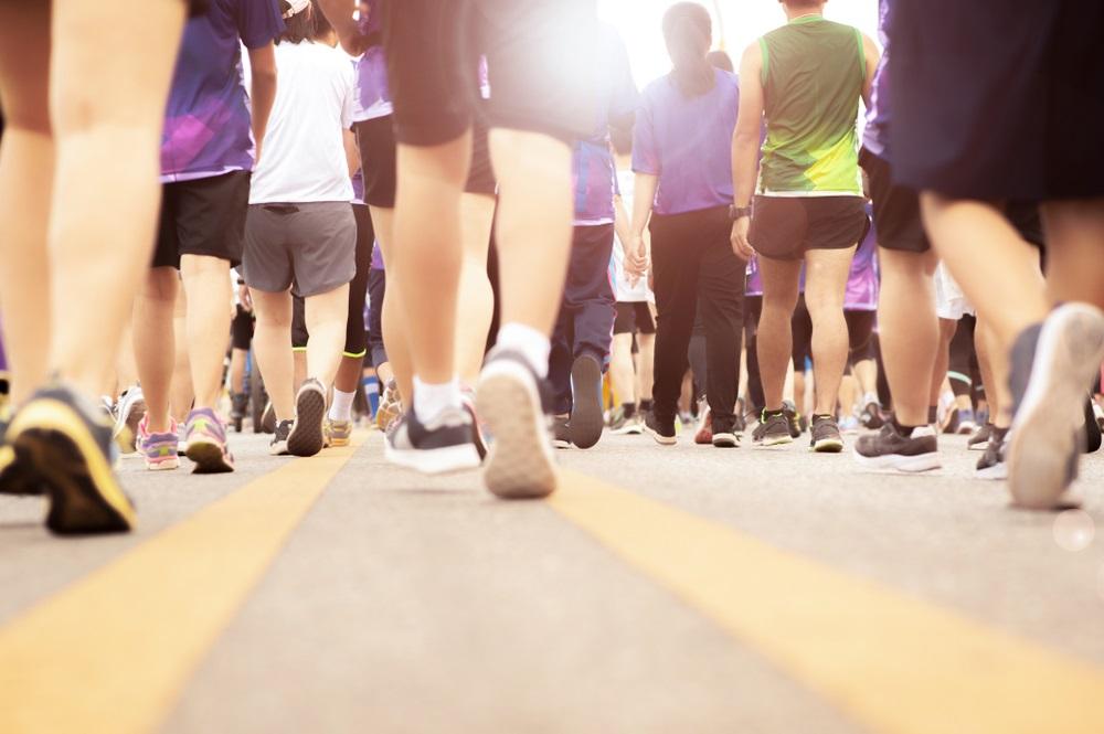 Marathon wandelen
